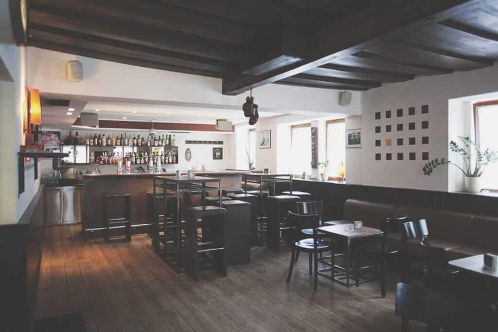 Kulm Pub Sitzecke
