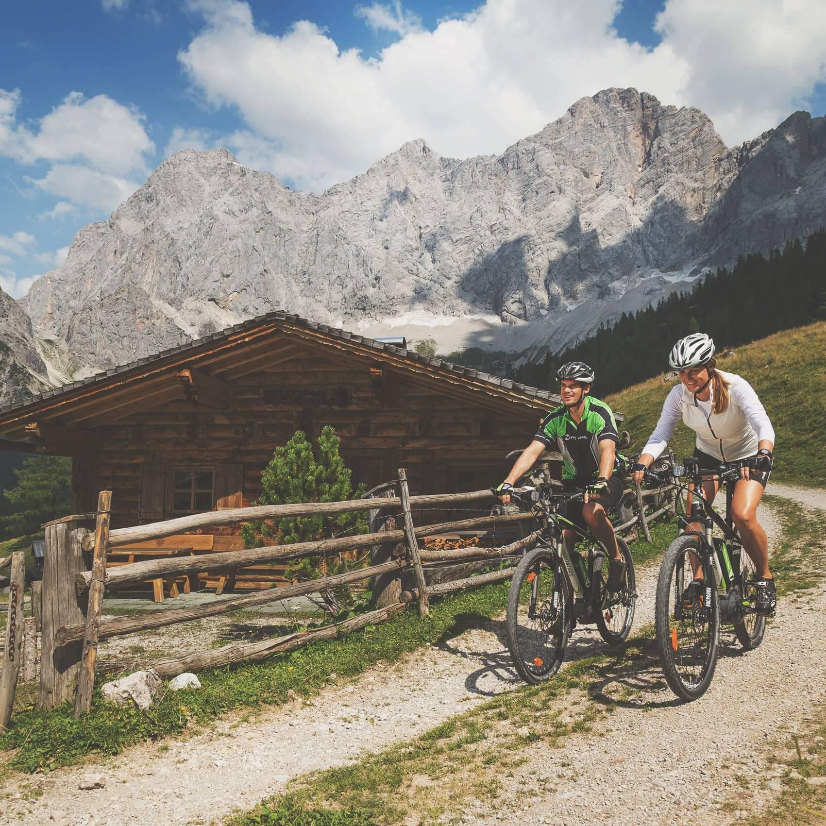 Radfahren Ramsau