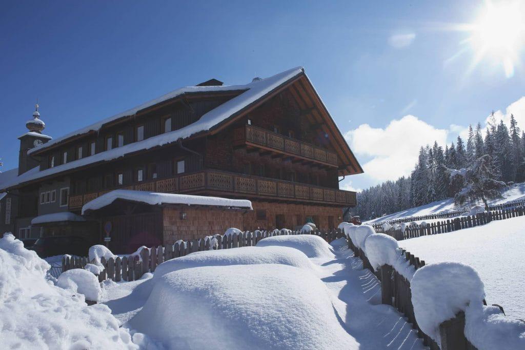 Kulmwirt im Winter Nord